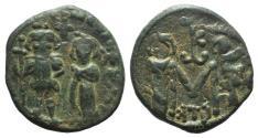 Ancient Coins - Constans II (641-668). Æ 40 Nummi. Carthage, 662-667.
