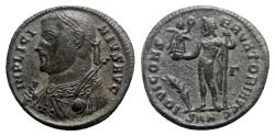 Ancient Coins - Licinius I (308-324). Æ - Nicomedia - R/ Jupiter
