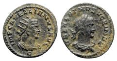 Ancient Coins - Aurelian and Vabalathus (270-275). Radiate - Antioch