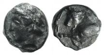 Ancient Coins - Ionia, Magnesia ad Maeandrum, c. 400-350 BC. Æ 7mm