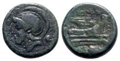 Ancient Coins - Roman Republic, Anonymous, Rome, c. 217-215 BC. Æ Uncia