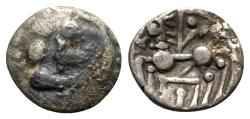 Ancient Coins - Gaul, Southern. Elusates. AR Unit - Imitating Emporion