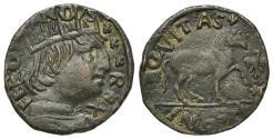 World Coins - Italy, l'Aquila. Ferdinando I d'Aragona (1458-1494). Æ Cavallo  R/ Horse