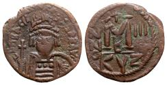 Ancient Coins - Heraclius (610-641). Æ 40 Nummi - Cyzicus, year 3