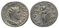 Ancient Coins - Philip I (244-249). AR Antoninianus. Rome, AD 244. R/ Victory
