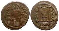 Ancient Coins - Justinian I (527-565). Æ 40 Nummi - Antioch, year 28
