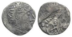 Ancient Coins - ARABIA, Southern. Saba'. Late 4th–mid 2nd centuries BC. AR tmrt – Quarter Unit  VERY RARE