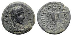 Ancient Coins - Phrygia, Apameia. Pseudo-autonomous issue, c. 3rd century AD. Æ - Tryphon, magistrate - Boule / Eagle