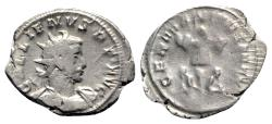 Ancient Coins - Gallienus (253-268). AR Antoninianus - Colonia Agrippinensis - R/ Trophy with captive