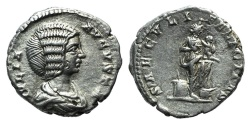 Ancient Coins - Julia Domna (Augusta, 193-217). AR Denarius