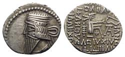 Ancient Coins - Kings of Parthia, Pakoros I (c. AD 78-120). AR Drachm - Ekbatana