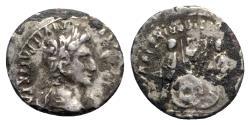 Ancient Coins - Augustus (27 BC-AD 14). AR Denarius - Lugdunum