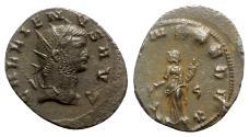 Ancient Coins - Gallienus (253-268). Antoninianus - Siscia - R/ Fortuna