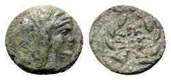 Ancient Coins - Sicily, Uncertain Roman mint(?), c. late 2nd century BC. Æ