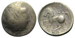 Ancient Coins - Celtic, Eastern Europe, imitating Philip II of Macedon, c. 2nd century BC. AR Tetradrachm