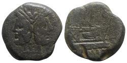 Ancient Coins - Roman Republic - Anonymous, Rome, after 211 BC. Æ As
