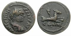 Ancient Coins - Caracalla (198-217). Mysia, Parium. Æ 24mm R/ CAPRICORN