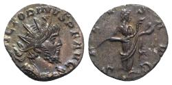 Ancient Coins - Victorinus (260-269). AR Antoninianus. Colonia Agrippinensis, 269-70. R/ SALUS EXTREMELY FINE
