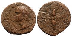 Ancient Coins - Divus Augustus (died AD 14). Æ As - Rome - R/ Winged thunderbolt