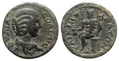 Ancient Coins - Julia Soaemias (Augusta, 218-222). Phrygia, Cibyra. Æ - RARE