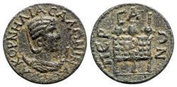 Ancient Coins - Salonina (Augusta, 254-268). Pamphylia, Perge. Æ 10 Assaria