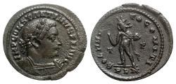 Ancient Coins - Constantine I (307/310-337). Æ Follis - Londinium - R/ Sol