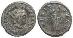 Ancient Coins - Florian (AD 276). Radiate. Rome, AD 276. R/ LAETITIA