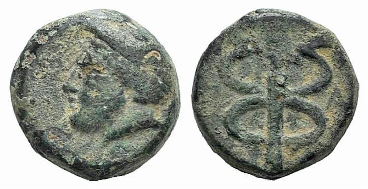 Ancient Coins - Ionia, Phokaia, c. 2nd century BC. AE 10mm