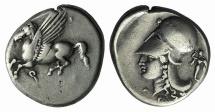 CORINTHIA, Corinth. Circa 375-300 BC. AR Stater