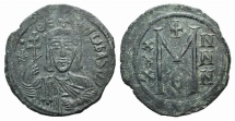 Ancient Coins - Theophilus. 829-842. Æ Follis. Constantinople mint. Struck 829-830/1.
