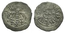 World Coins - Italy, Sicily, Palermo. Guglielmo II (1166-1189). AR Terzo di Apuliense RARE