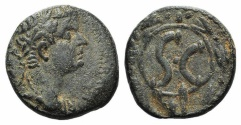Ancient Coins - Tiberius (14-37). Seleucis and Pieria, Antioch. Æ 21mm