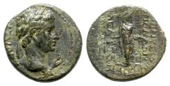 Ancient Coins - Augustus (27 BC-AD 14). Phrygia, Apamea. Æ - Dionysios Apolloniou and Meliton, magistrates