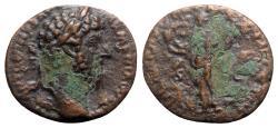 Ancient Coins - Marcus Aurelius (161-180). Æ As - Rome - R/ Liberalitas