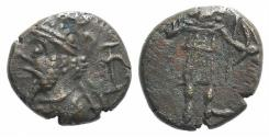 "Ancient Coins - Kings of Elymais, ""Prince A"" (c. AD 200-250). Æ Unit. R/ Artemis"