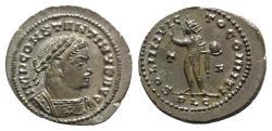 Ancient Coins - Constantine I (307/310-337). Æ Follis. Lugdunum, 314-5. EXTREMELY FINE   Ex trésor de Chitry, exemplaire n 1880