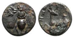 Ancient Coins - Ionia, Ephesos, c. 390-320/00 BC. Æ