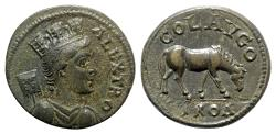 Ancient Coins - Troas, Alexandria Troas. Pseudo-autonomous issue, time Trebonianus Gallus (251-253). Æ