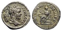 Ancient Coins - Septimius Severus (193-211). AR Denarius - Rome - R/ Salus