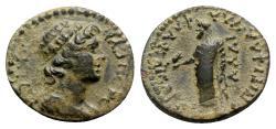 Ancient Coins - Lydia, Daldis. Pseudo-autonomous issue, time of Vespasian (69-79). Æ - Ti. Fla. Hylas, magistrate