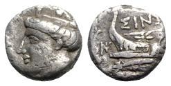 Ancient Coins - Paphlagonia, Sinope, late 4th-3rd century BC. AR Tetrobol