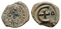 Ancient Coins - Justinian I (527-565). Æ 5 Nummi - Antioch