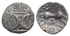 Ancient Coins - Celtic, Iceni. Antedios, c. AD 10-30(?). AR Unit R/ HORSE