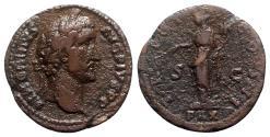 Ancient Coins - Antoninus Pius (138-161). Æ As - Rome - R/ Pax