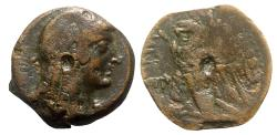 Ancient Coins - Ptolemaic Kings of Egypt, Ptolemy VI (Second sole reign, 163-145 BC). Æ