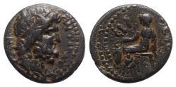 Ancient Coins - Seleukis and Pieria, Antioch. Time of Nero (54-68). Æ - Zeus / Boule