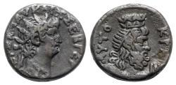 Ancient Coins - Nero (54-68). Egypt, Alexandria. BI Tetradrachm - R/ Serapis