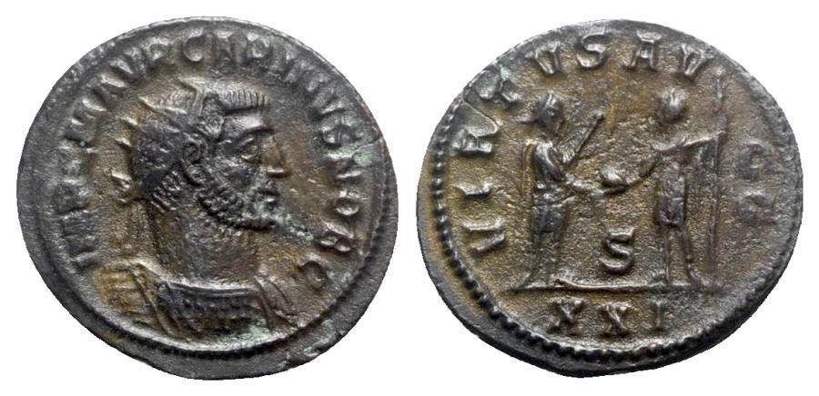 Ancient Coins - Carinus (Caesar, 282-283). Radiate - Antioch