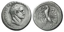 Ancient Coins - Seleucis and Pieria. Antioch. Galba. AD 68-69. AR Tetradrachm. R/ EAGLE. Bold Portrait of Galba