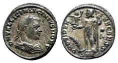 Ancient Coins - Licinius II (Caesar, 317-324). Æ Follis - Nicomedia - R/ Jupiter